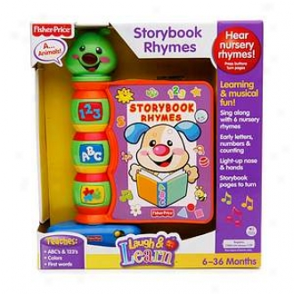 Fisher-price Laugh & Learn Storybook Rhymes, Ages 6-36 Months