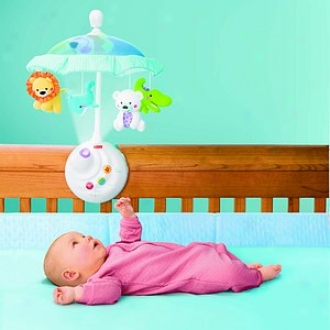 Fisher-price Precious Planet 2-in-1 Projection Mobile, 0+ Months