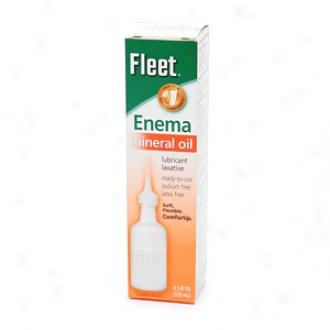 Fleet Mineral Oil Enema, Latex Frwe