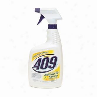 Formula 409 Antibacterial All Purpose Kitchen Cleaner, Lemon Fresh