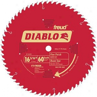 Freue 16-5/6  69t Diablo Fine Finish Work Beam Saw Blad D1660x
