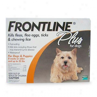 Frontline Plus For Dogs & Puppies 8 Weeks Or Older And Up To 22 Lbs.