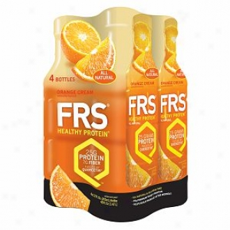 Frs Healthy Energy, All Natural Protein, Orange Cream
