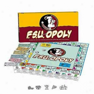 Fsu-opoly Florida State Univereity Monopoly Game Ages 8+