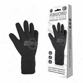 Fukuoku Five Finger Waterproof Mzssage Glove, Right Hand