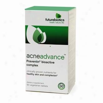 Futurebiorics Acneadvance, Praventin Bioactive Complex Vegetarian Tablets