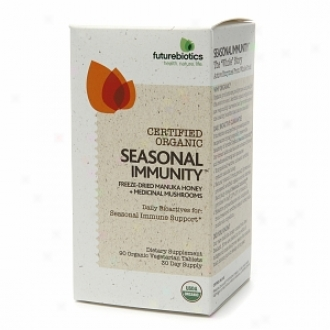Futurebiotics Certified Organic Seasonal Immunity, Organic Vegetarian Tablets