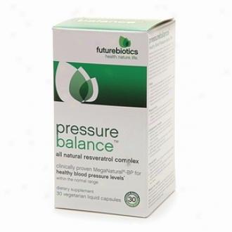 Futurebiotics Pressure Balance, Resveratrol Complex Liquid Capsules