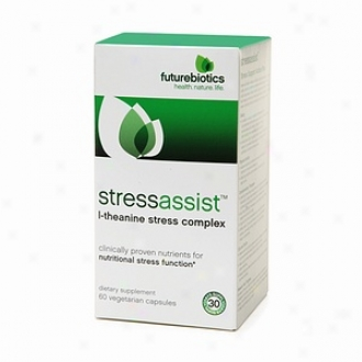 Futurebiotics Stressassist, L-theanine Stress Complex Vegetarian Capsules