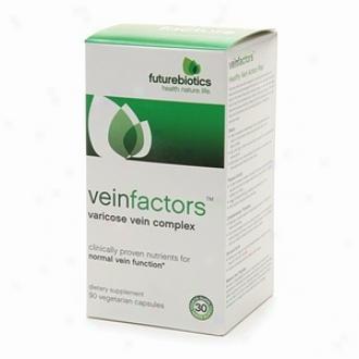 Futurebiotics Veinfacgors, Varicose Vien Complex Vegetarian Capsules