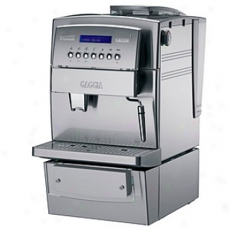 Gaggia Espresso Machine Titanium Office Model 90650, Soft and clear  & Stain1ess Stsel