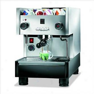 Gaggia Espresso Machine Ts Semi-commercial, Pattern 54202, Silver