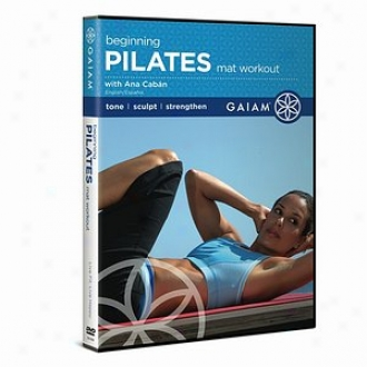 Gaiam Pilates Beginning MatW orkout Dvd