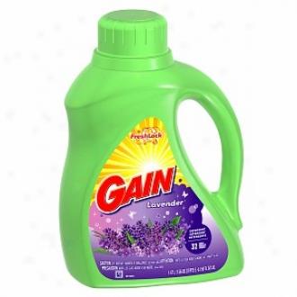 Gain Liquid Deyergent With Freshlock, 32 Loads, Lavender