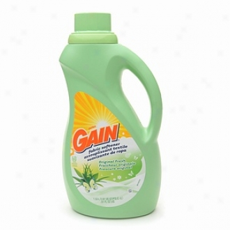 Gain Liquid Fabric Softener, Source Fresh, 60 Loads