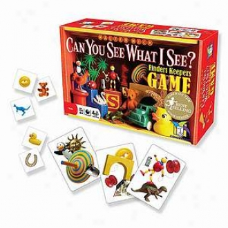 Gamewright Be able to You See What I See? Finders Keepers Game Ages 4 And Up