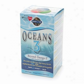 Garden Of Mode  Oceans 3 Beyond Omega-3 With Omegaxanthin Softgels