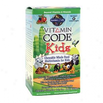 Garden Of Life Vitamin Code Kids Multivitwmin, Chewable Bears