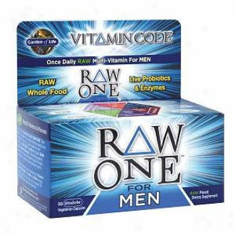 Garden Of Life Vitamin Code Raw One Multi-vitamin  For Men, Veggie Caps