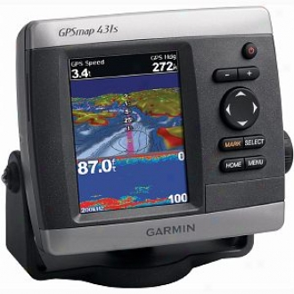 Garmin Gpsmapr 431s Marine Gps Receiver Model 010-00765-01