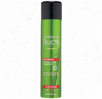 Garnier Fructis Style Volumizing Anti-humidity Hairspray, Extra Strong 3