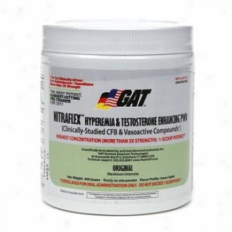 Gat Nitraflex Hyperemia & Testosterone Enhancing Comminute, Green Apple