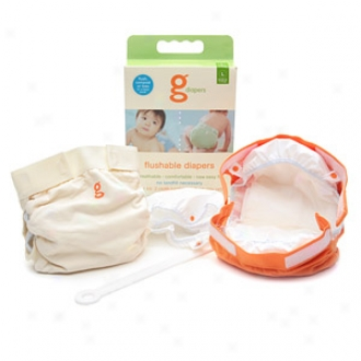 Gdiapers Little Gpants Biodegradable Refills, Large 26-36lbs, Large