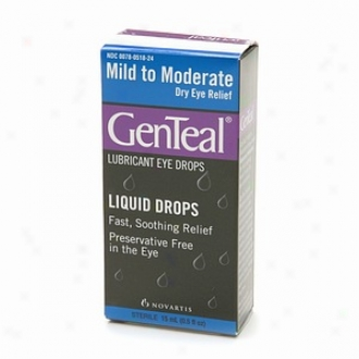 Genteal Lubricant Eye Drops, Mild To Moderate Dry Eye Relief