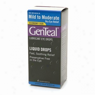 Genteal Lubricant Eyr Drops, Mild To Moderate Dry Eye Relief, Frugality Size