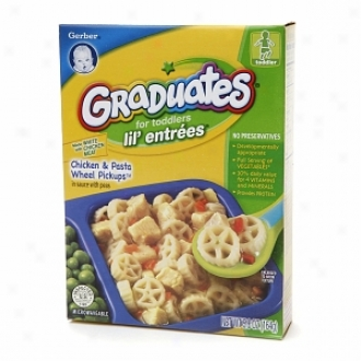 Gerber Graduates For Toddlers Lil' Entrees, Chicken & Pasta Wheel Pickups