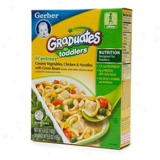 Gerber Graduates For Toddlers Lil' Entrees, Creamy Vegetables Chicken & Noodles