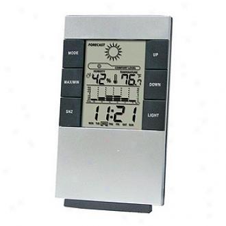 Ggi International Digital Desktop Call to arms Clock An dWeather Station