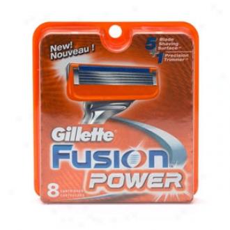 Gillette Fusion Power Razor, Refill Cartridges