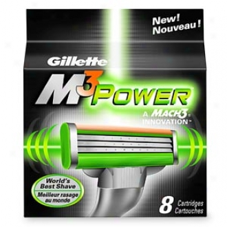 Gillette M3 Power Refill Cartridges