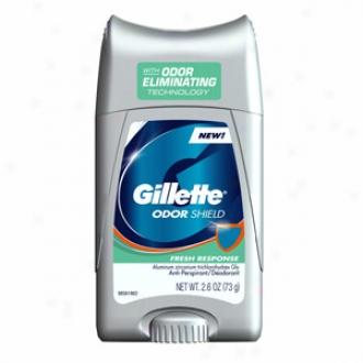 Gillette Odor Shield Antiperspirant & Deodorant, Frssh Response