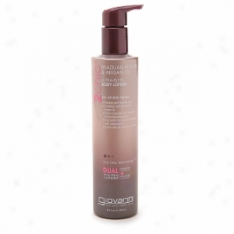 Giovanni 2chic Brazilian Keratin & Argan Oil Ultra-sleek Body Lotion