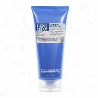 Giovanni Shave Cream Fragrance Free & Aloe (Sentient Skin), Fragrance Free & Aloe For Semsitive Skin