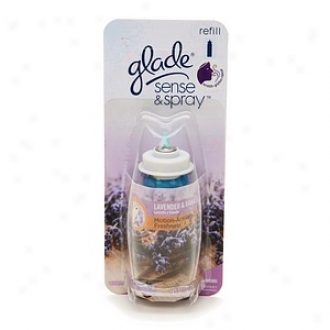 Glade Sense & Spray Self-moving Freshner, Refill, Lavender & Vanilla