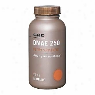 Gnc Dmae 250, Tablets