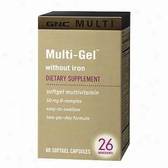 Gnc Multi Multi-gel Without Iron, Softgel Capsules
