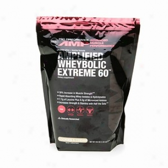 Gnc Pro Performance Amp Anplified Wheybolic Extreme 60, Cookies & Cream