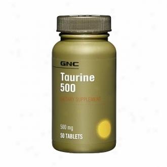 Gnc Taurine 500, Tablets