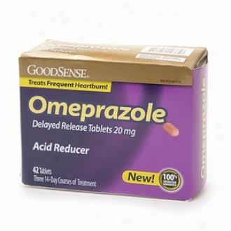 Good Sense Acid Reducer, Omeprazole Delayed Release Tablets 20mg