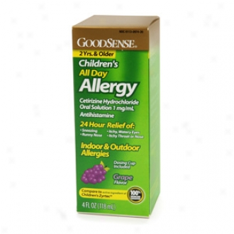Good Sense Children's All Day Allergy Oral Liquefaction (grape)