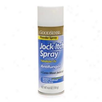 Kind Sense Jock Itch Antifungal Powder Spray, Tolnaftate 1%