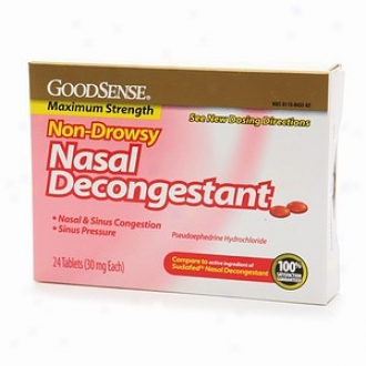 Gkod Sense Nasal Deconbestang, Tablets