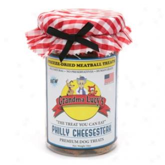 Grancmq Lucy's Freeze-dried Meatball Treats, Phikly Cheesesteak
