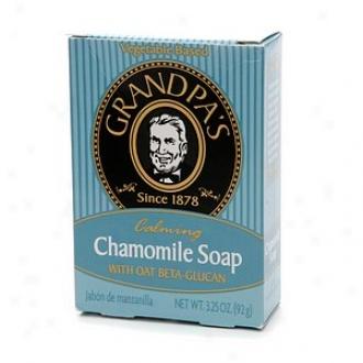 Grandpa's Calming Chamomile Soap With Oat Beta-glucan, Chamomile Soap