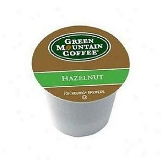 Inexperienced Mountain Hazelnut Coffee, K-cups