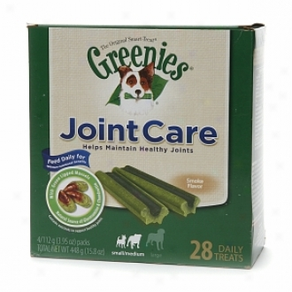 Greenies Joint Czre Diurnal Treats Concerning Dogs, Small/medium